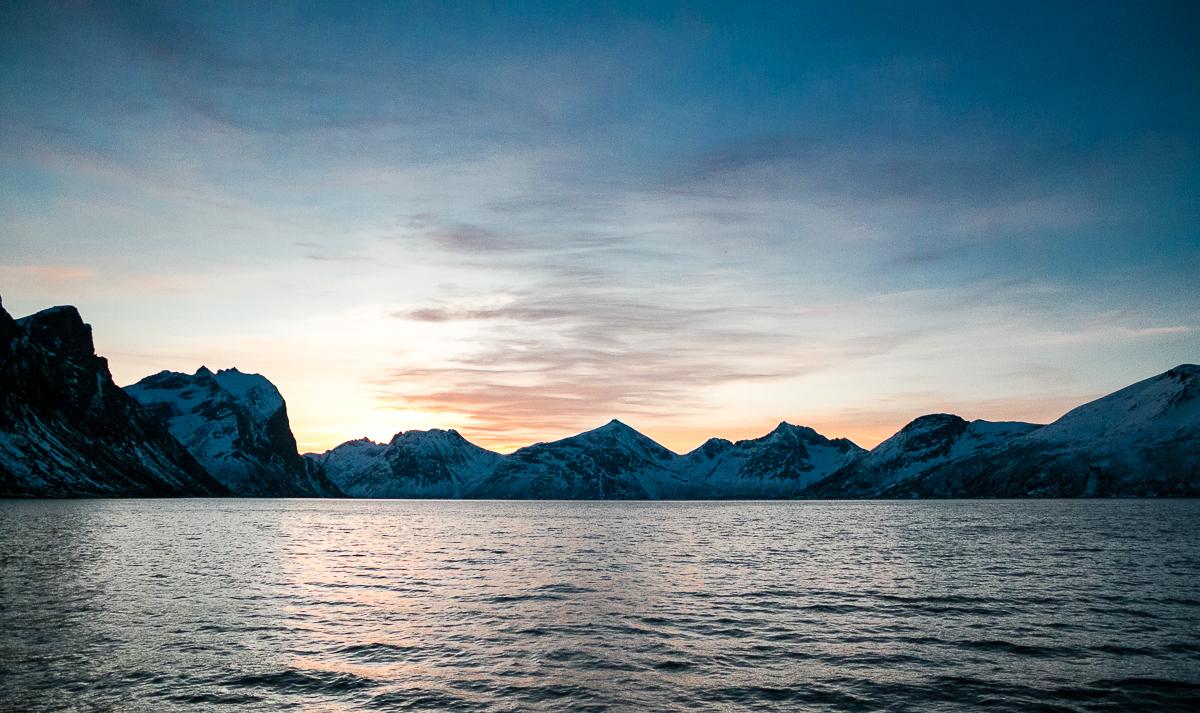 Blick auf den Fjord